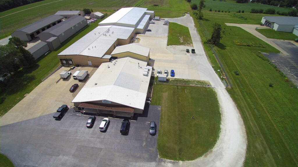 Galesburg Overhead View
